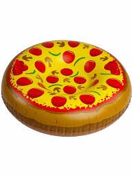 Snow TubeBig Mouth Toys Pizza 1m