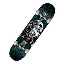 "Skateboard Complete Powell Peralta Skull and Sword Tourquise 7.88"" RESIGILAT"