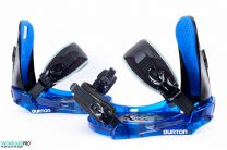 Legaturi Snowboard Burton Progression Low Stack Blue SM