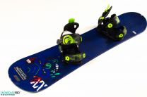 Placa Snowboard Copii Volkl Jibby 2016 126 + Snowboard Bindings SP FASTEC JR BLACK XS (30-35)