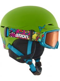 Casca Ski Snowboard Anon Define Youth Wildthing Green L/XL