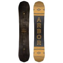 Placa Snowboard Arbor Element Black Rocker 2019 157