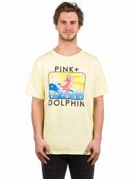Tricou Pink Dolphin Blossom Portrait Yellow M