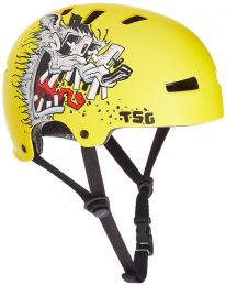 Casca Skate/Bike TSG Evolution Graphic Design yellow XS