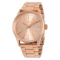 Ceas Nixon The Sentry 38 SS all rose gold