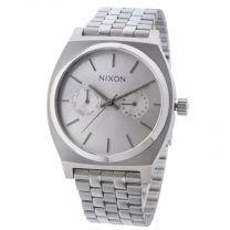 Ceas Nixon The Time Teller Deluxe all silver