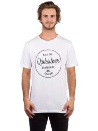 Tricou Quiksilver Classic Morning Slides White S
