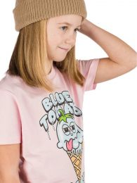Tricou Blue Tomato - Cold As Ice T-Shirt Cotton Pink