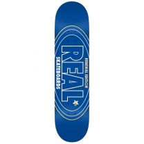 Skateboard Deck Real Team Renewal Blue 7.75""