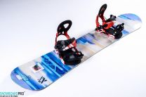 Snowboard Volkl Flavour 2017 143 + Snowboard Bindings Volkl Straptec Choice Alu 2017 S