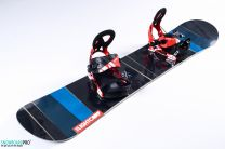 Snowboard Light Spice 2018 147 + Snowboard Bindings Volkl Straptec Choice M