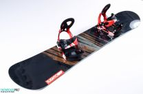 Snowboard Light Bright 2018 157 + Snowboard Bindings Volkl Straptec Choice M