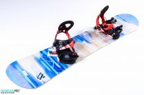 Snowboard Volkl Flavour 2017 151 + Snowboard Bindings Volkl Straptec Choice Alu 2017 S