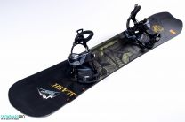 Placa Snowboard Slash Nahual 2017 157 + Legaturi Snowboard SP Core Black 18/19 M