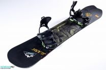 Placa Snowboard Slash Nahual 2017 157 + Legaturi Snowboard SP Mountain Black 18/19 M