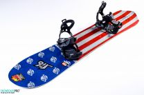 Placa Snowboard Lib Tech Mayhem Rocket C3 2017 157.5 + Legaturi Snowboard SP Core Black 18/19 M