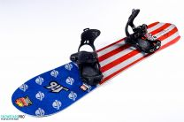 Placa Snowboard Lib Tech Mayhem Rocket C3 2017 157.5 + Legaturi Snowboard SP Slab Black 18/19 M