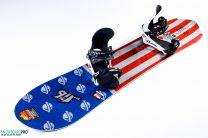 Placa Snowboard Lib Tech Mayhem Rocket C3 2017 157.5 + Legaturi Snowboard Flux Team M