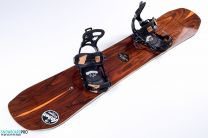 Placa Snowboard Arbor Wasteland 2018 158 + Legaturi Snowboard SP Brotherhood Black 18/19 M