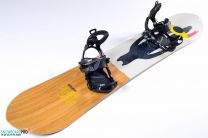 Snowboard Salomon Sickstick 163 + Snowboard Bindings SP Core Black 18/19 L
