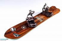 Placa Snowboard Arbor Cosa Nostra 2017 159 + Legaturi Snowboard SP Private Brown 18/19 M