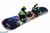 Placa Snowboard Copii Stuf Element Jr 125 + Snowboard Bindings SP FASTEC JR BLACK XS (30-35)