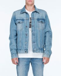 Geaca de Blugi Billabong Warholsurf Denim Bleach L