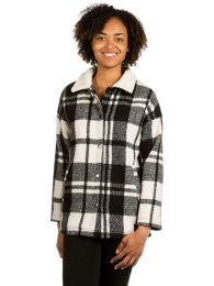 Geaca Iriedaily Plaid Team Pattern S
