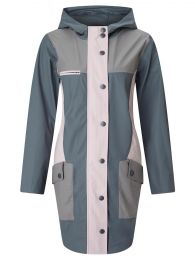 Geaca Numph Morgaine Raincoat Gray L