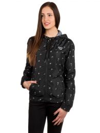 Geaca Sketchy Tank Jade Allover Windbreaker Black XS