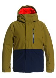 Geaca Snow Quiksilver Mission Solid Jacket Military Olive T14