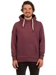 Hanorac Naketano Supapimmel IX Hoodie Red Bordeaux Melange XL