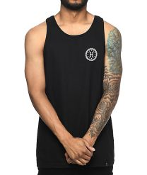 Maiou HUF Checkered Tank Black