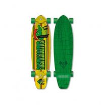 Longboard Flying Wheels Rastaligator RESIGILAT