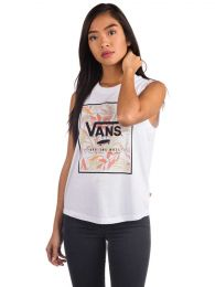 Maiou Vans Cali Floral Muscle White S
