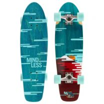 """Cruiser Complete Mindless Longboards Sunset 28"""" Green"""