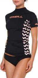 Tricou O'Neill Waves Lycra Black out XS