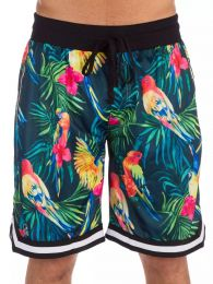 Shorts American Stitch Floral Yellow M