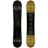 Placa Snowboard Arbor Element Black Camber 2019 156