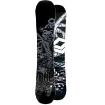 Placa Snowboard FTWO Black Deck Wood 2019 157w