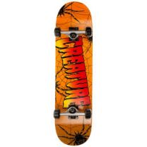 Skateboard Complete Creature Web Red 8""