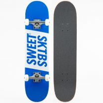 Skateboard Complete Sweet SKTBS Official Blue 7.5""