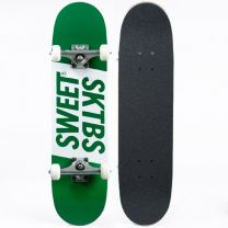 Skateboard Complete Sweet SKTBS Official Green 7.25""