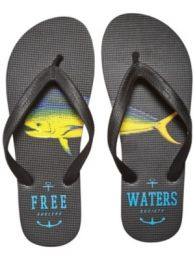 Slapi Free Waters	Tommy Print Black 41