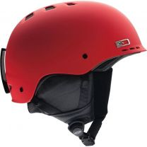 Casca Ski Snowboard Smith Holt 2 Matte Sriracha Red