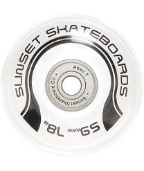 Roti Longboard Sunset White Conical 59mm