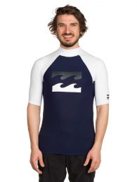 Tricou Billlabong Team Waves Rash Guard blue S