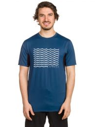 Tricou O'Neill Evolver Rash Guard blue S